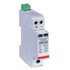Surge protection device Type 2, Direct Current