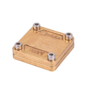 Brass Square Clamp